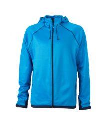 James & Nicholson Hooded Fleece Jacket Heren