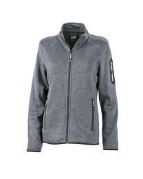 James & Nicholson Knitted Fleece Jacket Dames