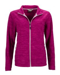 James & Nicholson Melange Fleece Jacket Dames