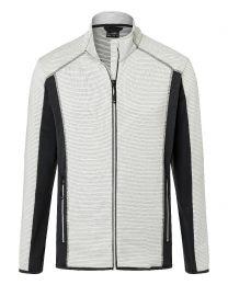 James & Nicholson Structure Fleece Jacket Men