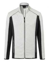 James & Nicholson Structure Fleece Jacket