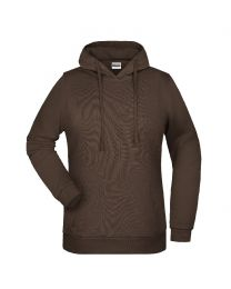 Klassiek sweatshirt met capuchon, dames.