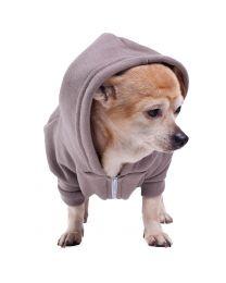 Hoodie Flex Fleece Zip Honden