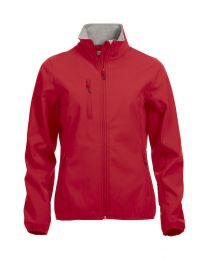 Basic Softshell Jacket Dames New Wave