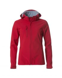 Basic Hoody Softshell Dames New Wave