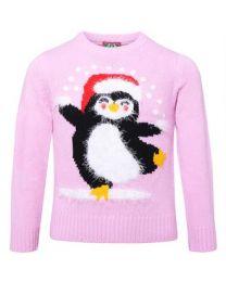 Kersttrui met Pinguin Kinderen