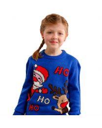"""Kersttrui """"Ho Ho Ho"""" Kinderen"""