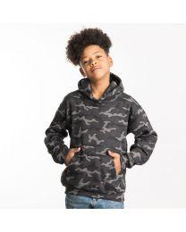 Kids camo hoodie