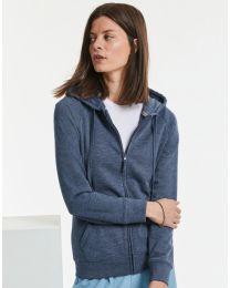 Full zip hoodie, dames.