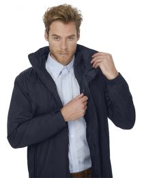 Corporate 3-in-1 Jacket B&C, heren