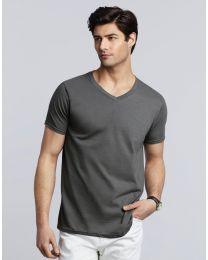 T-shirt Gildan Softstyle V-neck Heren