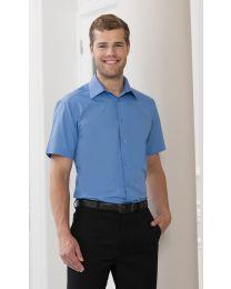 Overhemd Russel Men's S/SL Poplin heren