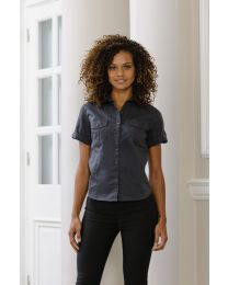 Blouses Russel Roll Sleeve Shirt dames
