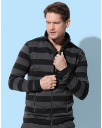 Stedman Striped Fleece Jacket Heren