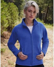 Fruit of the Loom Full Zip Fleece Dames