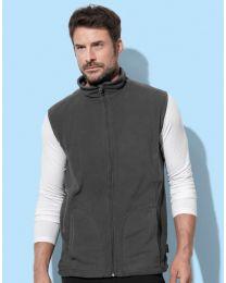 Stedman fleece vest heren