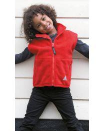 Fleece Bodywarmer Result Kinderen