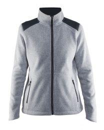 Craft Noble Zip Jacket Heavy Knit Fleece Heren