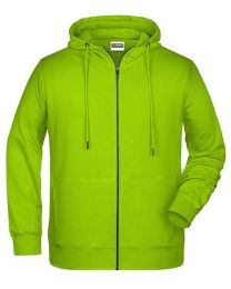 Heren,` Zip-Hoody.