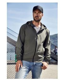 James & Nicholson Hooded softshell jacket Heren