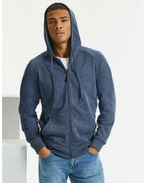 Hoodie full zip, sweat, heren.