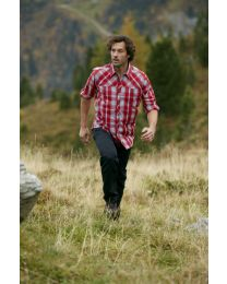 Overhemd James & Nicholson UV-protector Trekking shirt lange mouw heren