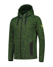 Fleece hoodie,  Cardigan Riptide, heren.
