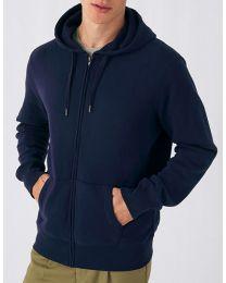 Zip hoodie, dames en heren.