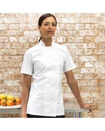 Koksbuis Premier Chef's korte mouw Dames