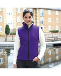 Softshell bodywarmer Dames