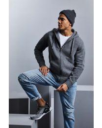 Authentic Full Zip Hooded, Melange Sweatshirt, heren.