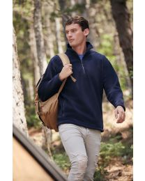 Fruit of the Loom Half Zip Fleece Heren