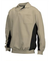 Polosweater Tricorp Bi-color Heren