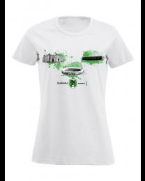 010 t-shirt dames, voetbalstad 1